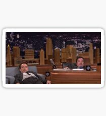 Jimmy Fallon & Robert Downey Jr.  Sticker