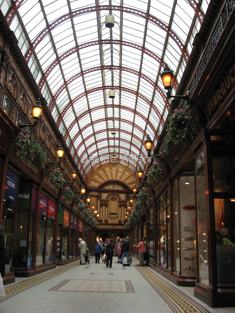 Central Arcade Newcastle Upon Tyne by Jackie Wilson