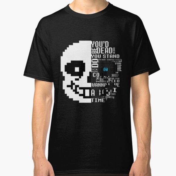 Undertale Sans Shirt Classic T-Shirt
