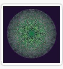 Fatty Phi Flower Three Layer - Green Chas Edition Sticker