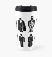 Travel Mug - all 12 doctors Travel Mug