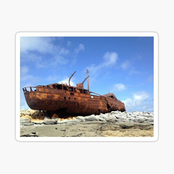 Inisheer Shipwreck Sticker