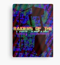 Raiders Of The Lost Arcade Metal Print