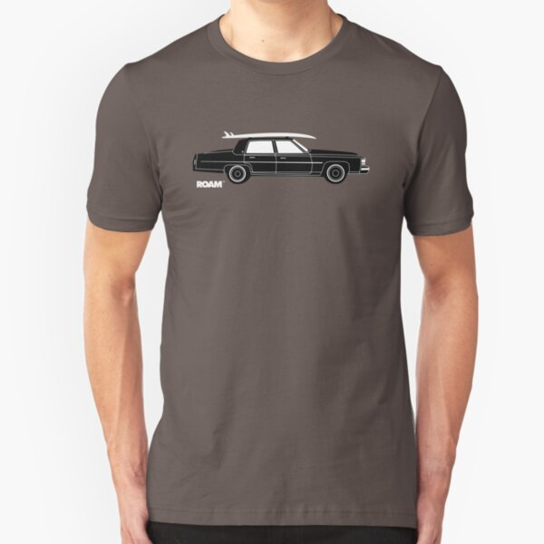 ROAM Rat Caddy Surfer  Slim Fit T-Shirt
