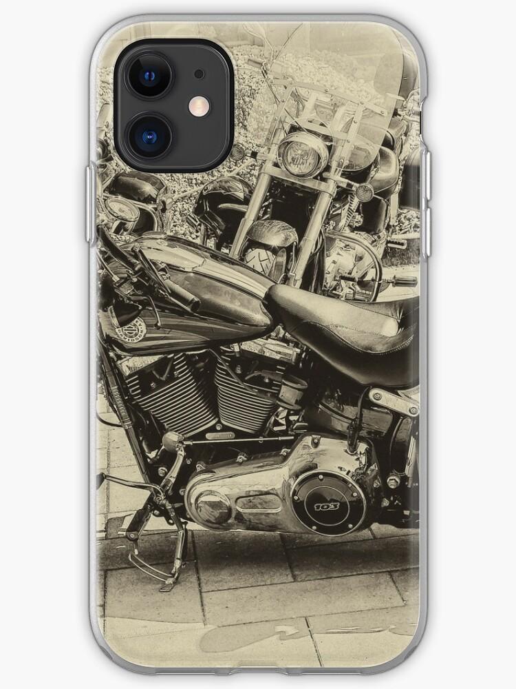Classic Harley iphone case