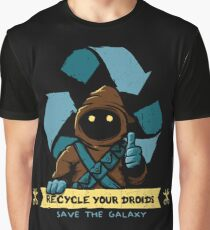 Recycle your droids - Jawa Graphic T-Shirt