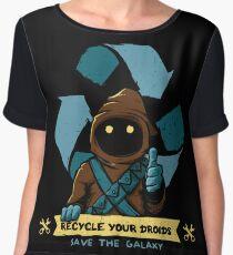 Recycle your droids - Jawa Chiffon Top