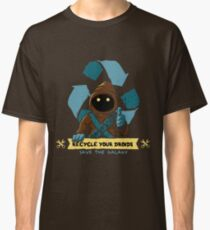 Recycle your droids - Jawa Classic T-Shirt