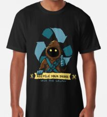 Recycle your droids - Jawa Long T-Shirt