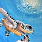 Sea turtle by Melanie Gehrke