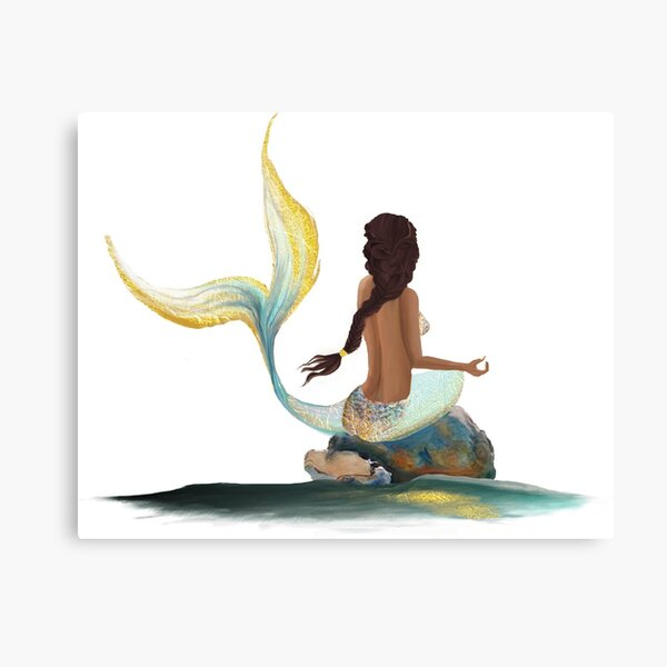 Samaya the Mermaid Canvas Print