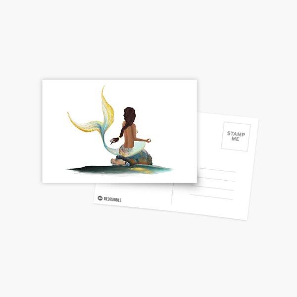 Samaya the Mermaid Postcard