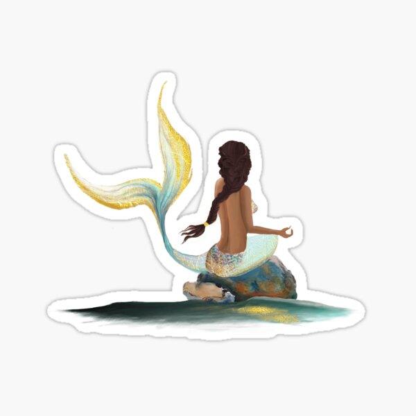 Samaya the Mermaid Sticker