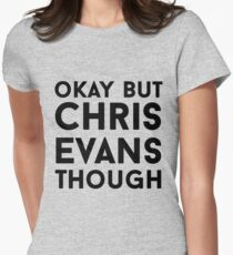 Chris Evans Women's Fitted T-Shirt
