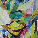 Portrait of my art teacher famous Australian artist Peter Powditch. by vitbich