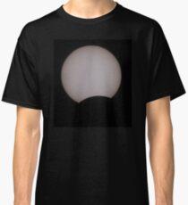 partial solar eclipse Classic T-Shirt