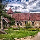 East Chiltington Church by Dave Godden