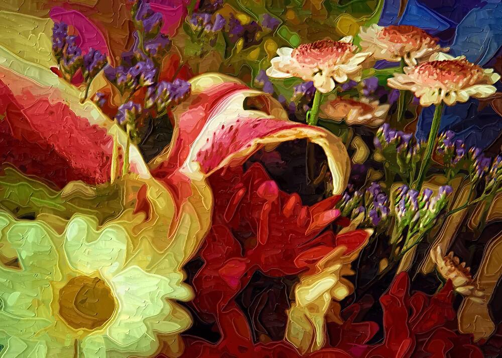 Bouquet by Mariann Kovats