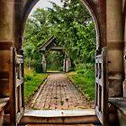 The Church Path by Dave Godden