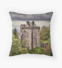 Castle Campbell Throw Pillow
