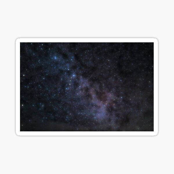 Milkyway and Andromeda Sticker