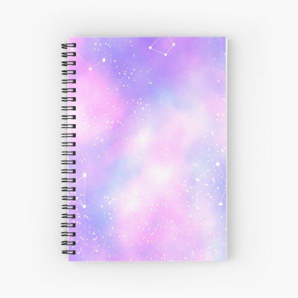 Pastel galaxy  Spiral Notebook