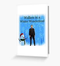 Walken in a Winter Wonderland | Funny Christmas Cards and Gifts with Christopher Greeting Card