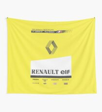 Formula 1 - Renault RE20 Wall Tapestry