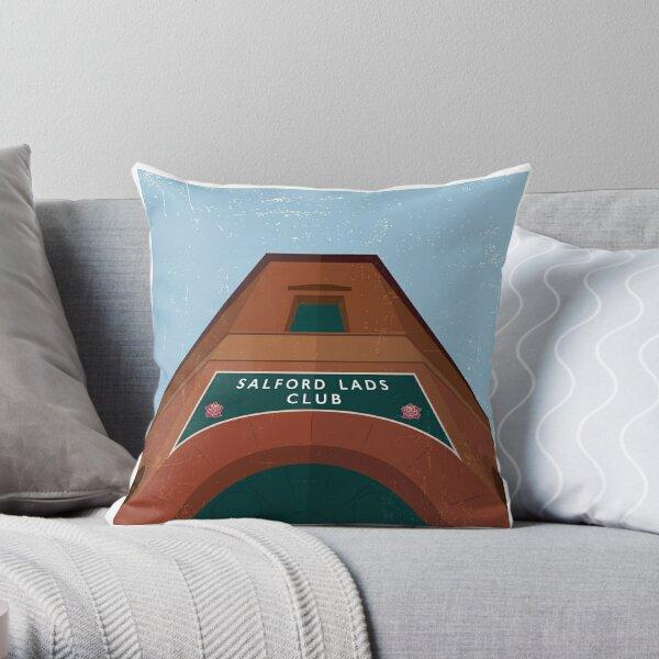 Salford Lads Club Throw Pillow