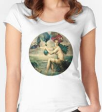 The Blessed Temperance Women's Fitted Scoop T-Shirt