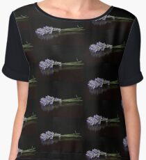 Fresh Cut Lavender Women's Chiffon Top