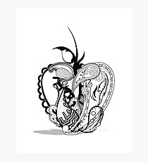 Paisley Apple Photographic Print