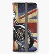 Classic BSA Motorcycle by Patjila iPhone Wallet/Case/Skin