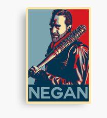 Negan Obey Hope Canvas Print
