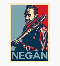 Negan Obey Hope Photographic Print
