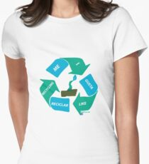 New logo of I like Recycling T-Shirt