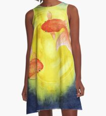 The Flying Goldfish  A-Line Dress