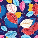 Autumn seamless color pattern  by Tanor