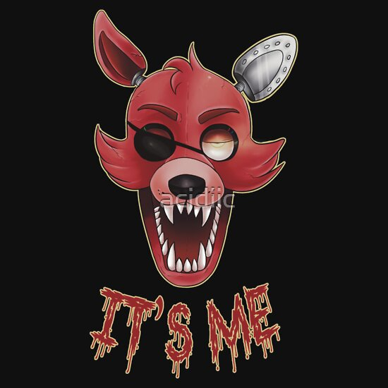 TShirtGifter presents: FIVE NIGHTS AT FREDDY'S-FOXY-IT'S ME   Unisex T-Shirt