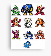 Mega Man 2 Canvas Print