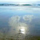 Clouds on the Beach by Ben de Putron