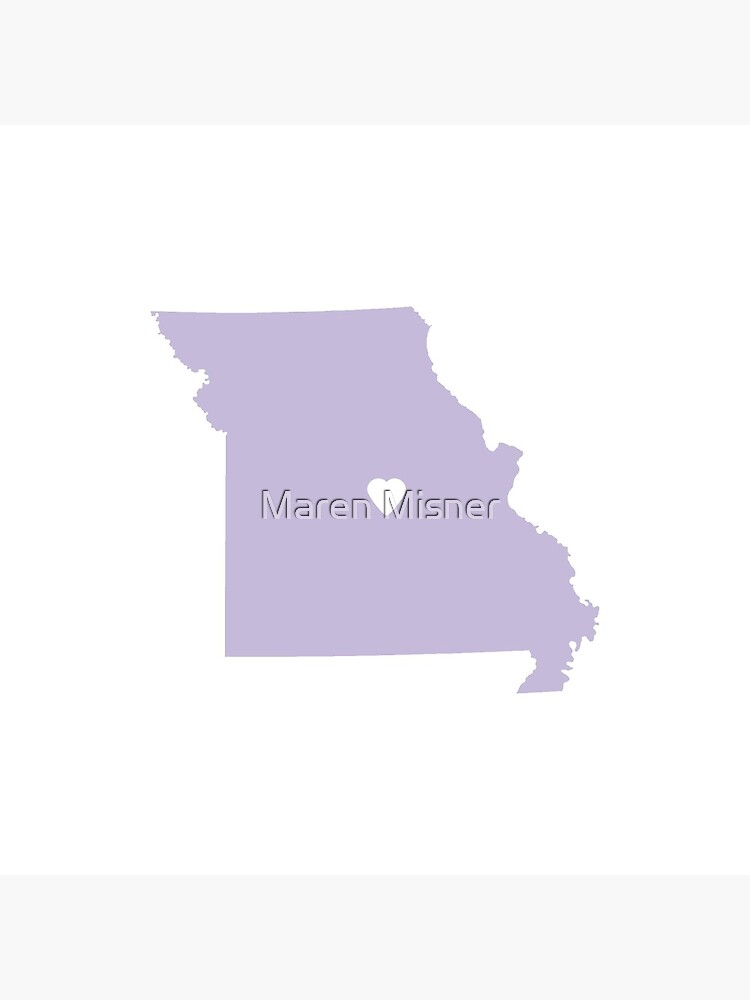 Missouri Love in Lilac by marenmisner