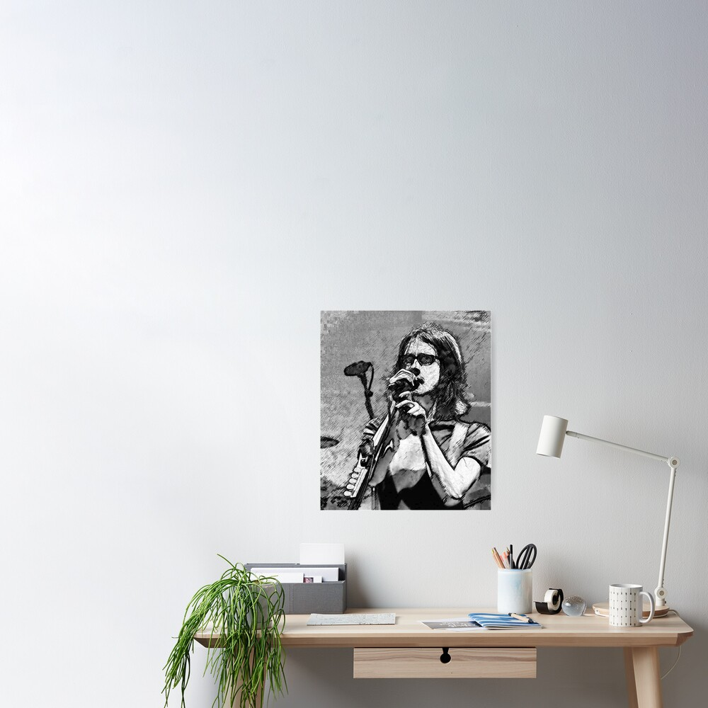 Steven Wilson Sketch  Poster