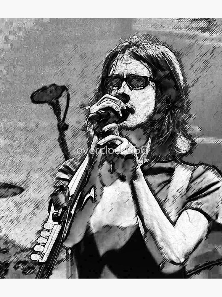 Steven Wilson Sketch  by overclock360