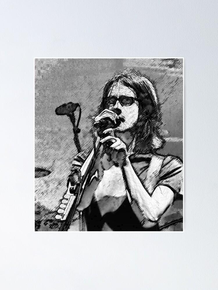 Alternate view of Steven Wilson Sketch  Poster