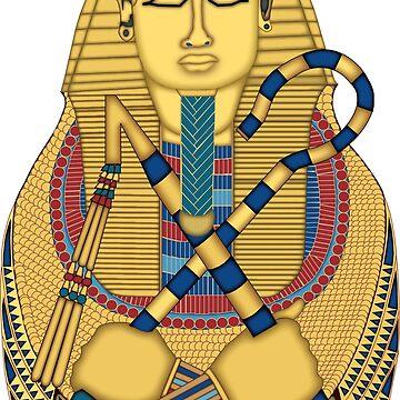 Tutankhamun sarcophagus by mindsgallery