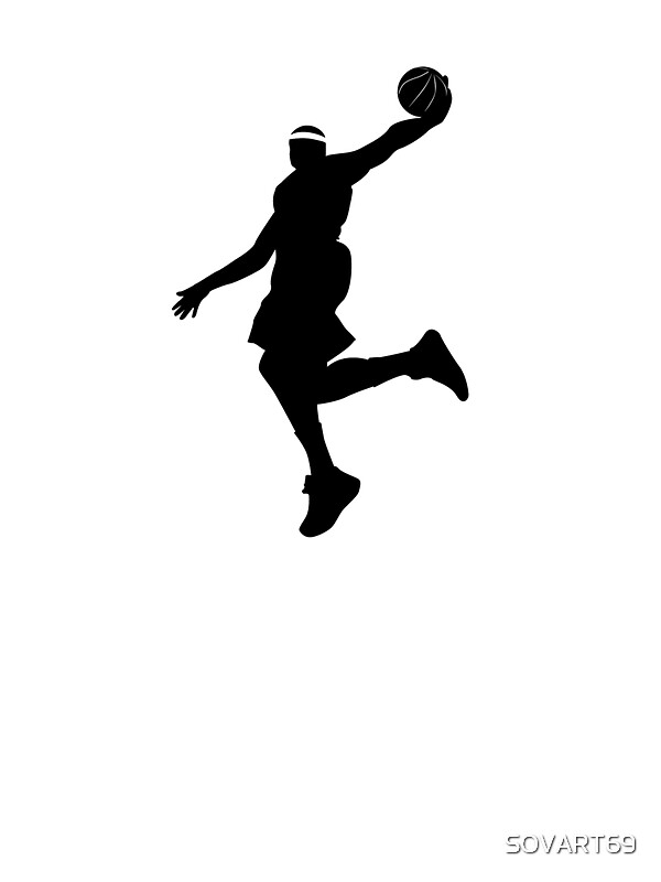 """""""Lebron James Dunking"""" Stickers by SOVART69   Redbubble"""