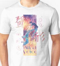 Eine leise Stimme - Koe keine Katachi Post Unisex T-Shirt