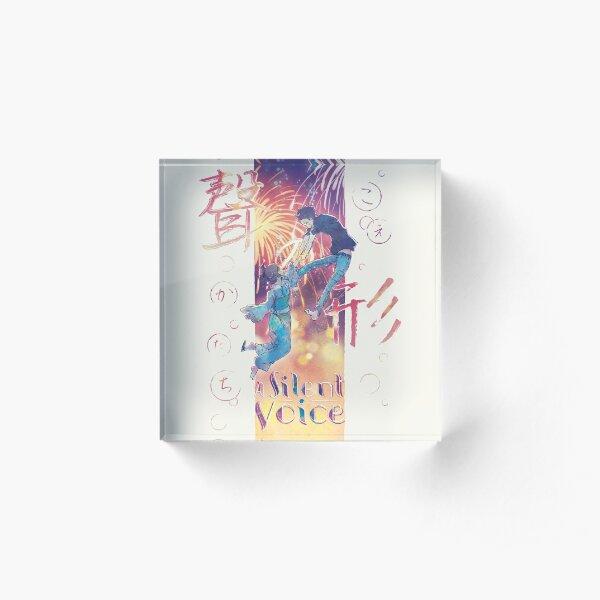 A Silent Voice - Koe no Katachi poster Acrylic Block