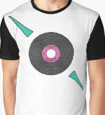 Vinyl Sounds Pixel Art Design Graphic T-Shirt